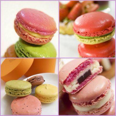 Можно по баловать себя замечательными печеньями (макаруны) ммммм вкусно!!!!