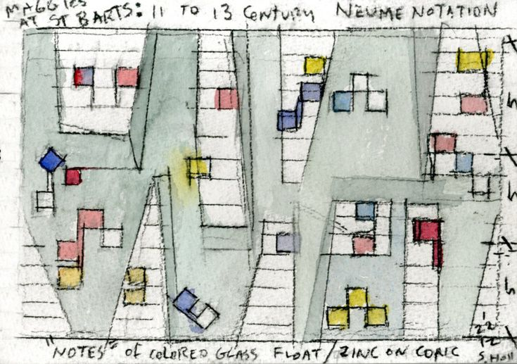Architect Steven Holl on starting every project with a watercolour - The Chromologist