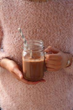 Chocolat chaud vegan (sans lactose et sans gluten)