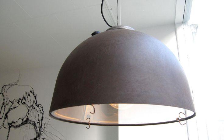 """2 stk. """"Københavnerlampen"""" i rå str. """"lille"""""""