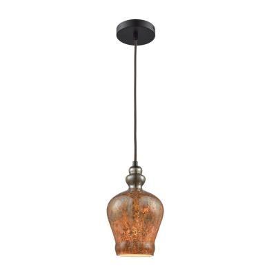 Elk Lighting 85100/1-LA Sojourn - One Light Pendant with Recessed Lighting Kit