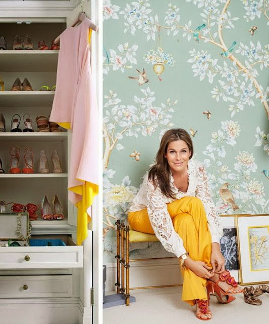 Dec-a-Porter: Imagination @ Home: Before & After: Gracie Wallpaper for Ronald McDonald Project Design