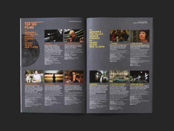festival brochure design - 50 best images about film festival design on pinterest
