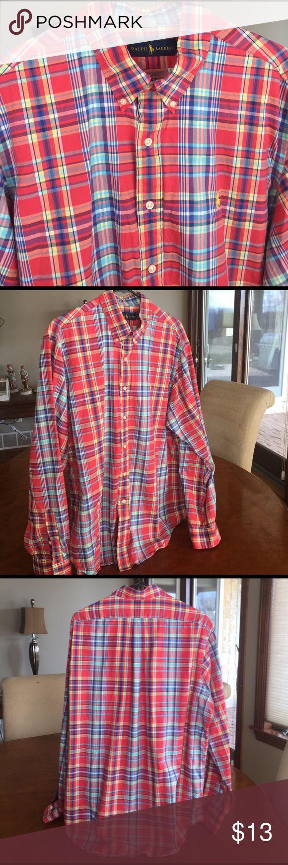 Mens Shirt Ralph Lauren Button Up Size XL Mens Ralph Lauren Shirt Button Up Size XL. Like new condition. Polo by Ralph Lauren Shirts