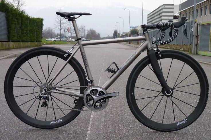 "Legend ""Il Re"" Titanium Road Bike"