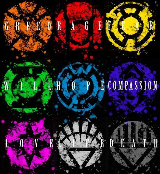 Lantern Corp Symbols Fine Art Print | DC | Pinterest ... Red Lantern Ring Oath