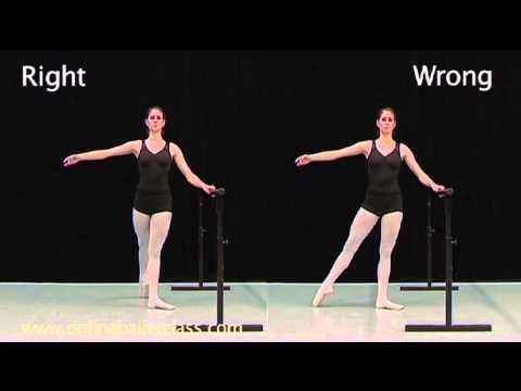 ▶ Learn ballet Online Ballet Class - YouTube
