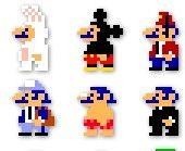 Elaine Luu_1_Pixelate_ Mario icons in dressupoutfits