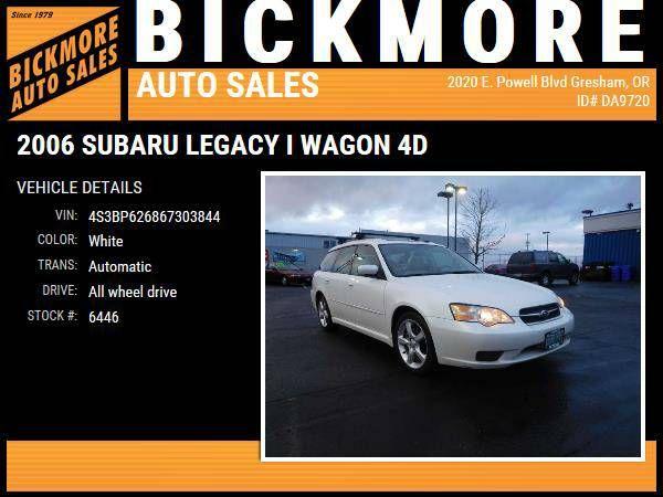 2006 *Subaru* *Legacy* i Wagon 4D