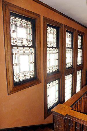 Isadore Heller House Prairie Style Frank Lloyd Wright Hyde Park Illinois