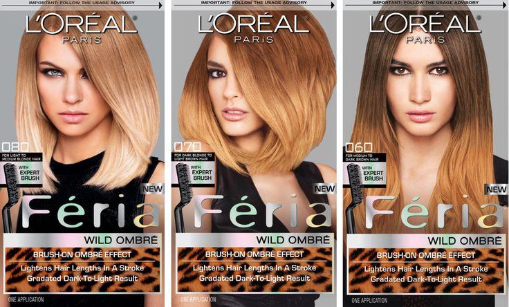 Ombré Hair at Home: L'Oréal Paris Préférence Wild Ombré Haircolour Kits - Beautygeeks