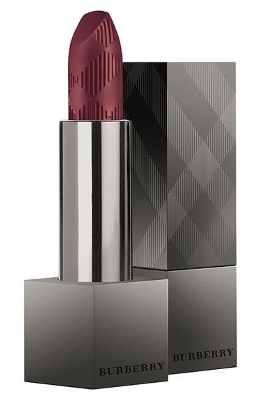 Free shipping and returns on Burberry Beauty 'Lip Velvet' Long Wear Lipstick at Nordstrom.com. Explore velvet intensity with Lip Velvet Long Wear Lipstick.<br><br>Burberry innovation brings a new finish for lips: a velvety matte radiance, inspired by the most opulent of English fabrics. Iconic pigments provide incredibly dense and luminous color, gel technology gives comfortable long-wear performance, while triglycerides and wild rose continuously hydrate. The result is effortlessly elegant…