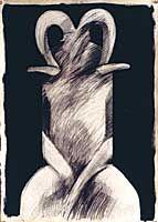 Majak Bredell, Figures of Origin, 1990