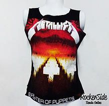 Camiseta Metallica reformada en la espalda. $40.000 Adquierela en www.rockerside.com Envíos a todo Colombia, aceptamos todos los medios de pago