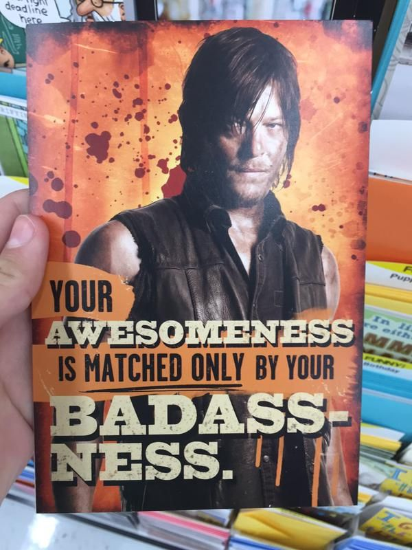 the walking dead birthday cards