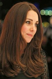 Duchess Kate Middleton Hair Color