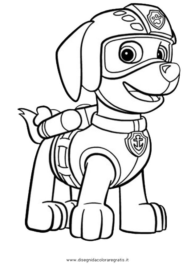 Free Printable Paw Patrol Coloring Pages Images