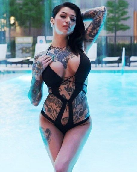 image Inked beauty harlow harrison analled by future employer