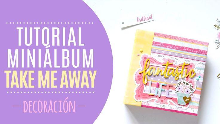 Tutorial Mini Álbum carpesano - Decoración