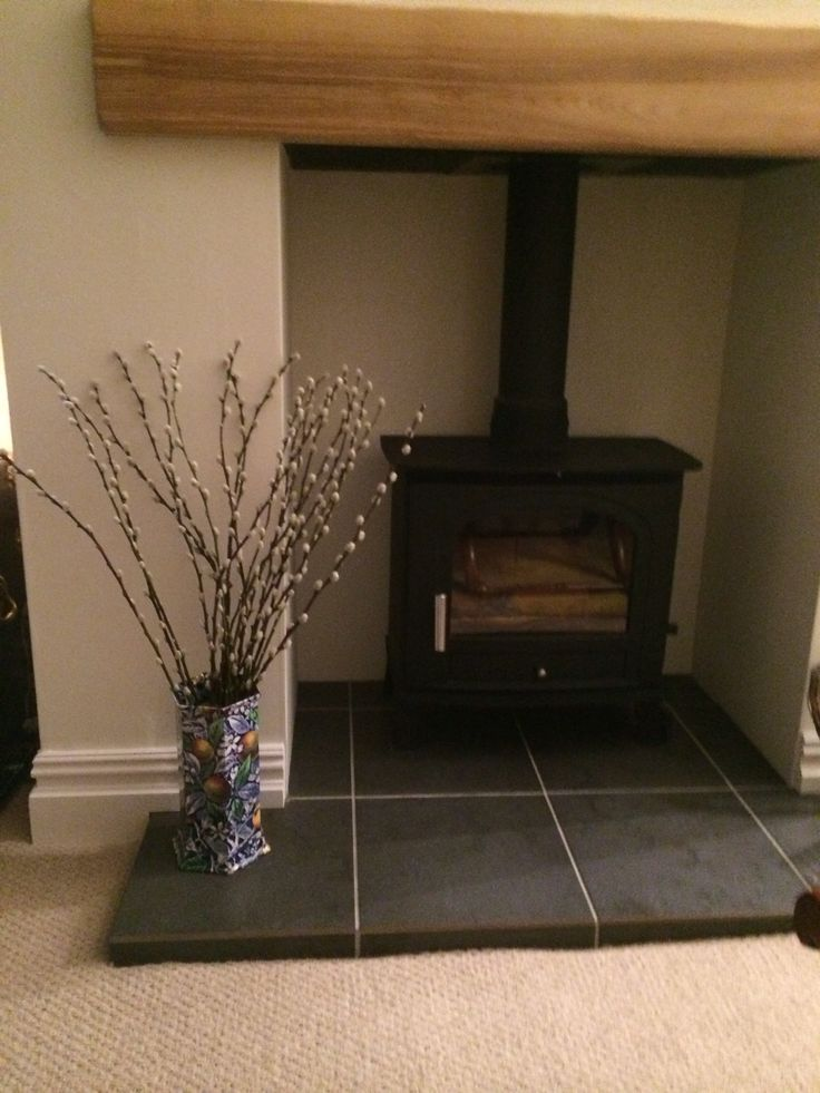 Pussywillow by the log burner