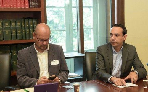 El ministro Juan Fernando Cristo se reunió con la Misión Electoral Especial imagen 5