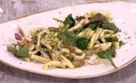 Ιταλική #σαλάτα με #ζυμαρικά και #καλαμαράκια #happyday #ΖανΛουίΚαψαλάς