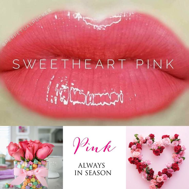 Sweetheart Pink LipSense Sealed With a Kiss By Merrick Distributor 457667