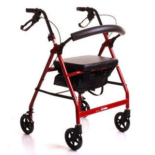 CareCo Glider Rollator, provides excellent support for those with walking impairments who want to get out and about!