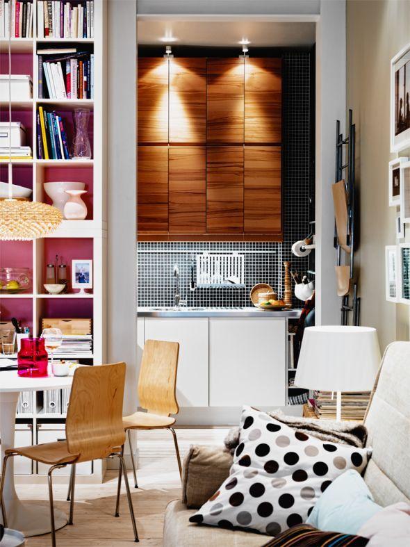 47 besten wohnen auf kleinem raum bilder auf pinterest. Black Bedroom Furniture Sets. Home Design Ideas