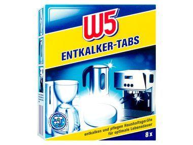 W5 Entkalker Tabs für Kaffeemaschinen #побутова_хімія_з_німеччини #Бытовая_химия_оптом #купить_бытовую химию #lidl #w5