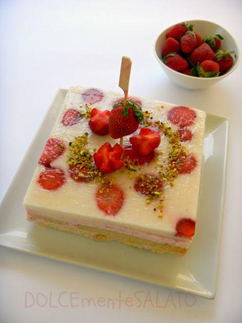 DOLCEmente SALATO: Torta Giardino di Fragole