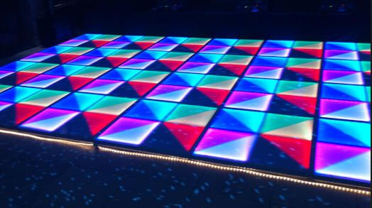 Illuminated Dance Floor to hire. Not just any plain dance floor for your school formal