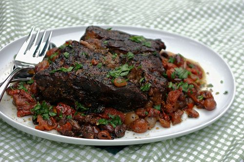 Slow Cooker Italian Pot Roast with Sun-dried Tomatoes & Kalamata ...