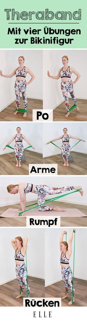 Wer auf Krafttraining setzt, um fit zu bleiben, wird um Übungen mit dem Theraba…