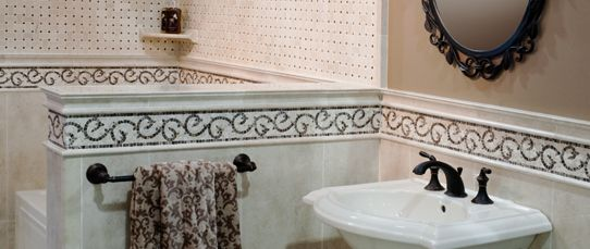 1000 Images About Tile Borders Listellos On Pinterest
