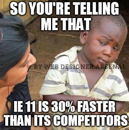 U just cannot tell me that. #webdesignertrolls