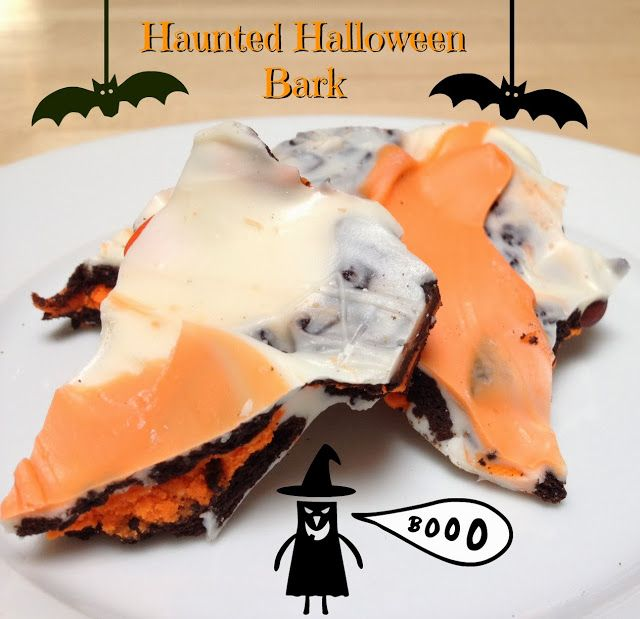25 best ideas about halloween bark on pinterest how for Easy halloween treats for work party
