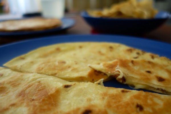 Quesadilla - comfort food för lata dagar.