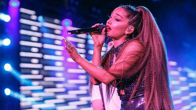 Bbc Radio 1 Live Lounge Ariana Grande Graces The Live Lounge