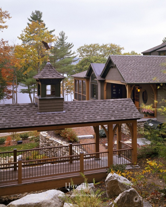 Covered Walkway Designs For Homes: Lakefront Lodge Images On Pinterest