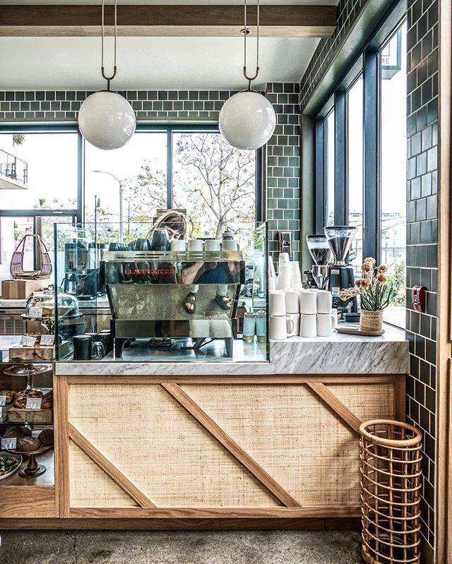 coffee time!  at the charming Winsome, a newly opened eatery in LA's Echo Park - by @zioandsons