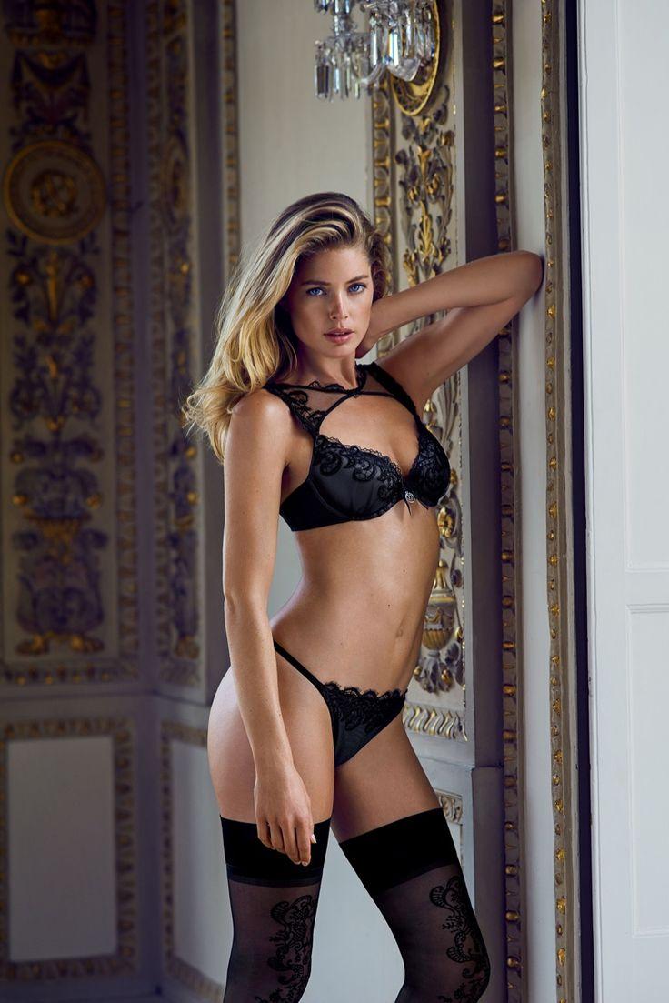 Doutzen Kroes flaunts her curves in Hunkemöller lingerie advertising campaign