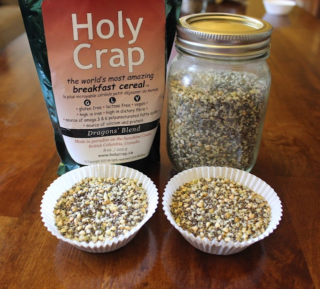 'Holy Crap' cereal recipeBreakfast Cereal, Dennings Inspiration, Chia Seeds, Homemade Holy, Dragons Dennings, Crap Cereal, Gluten Free, Cereal Recipe, Holy Crap
