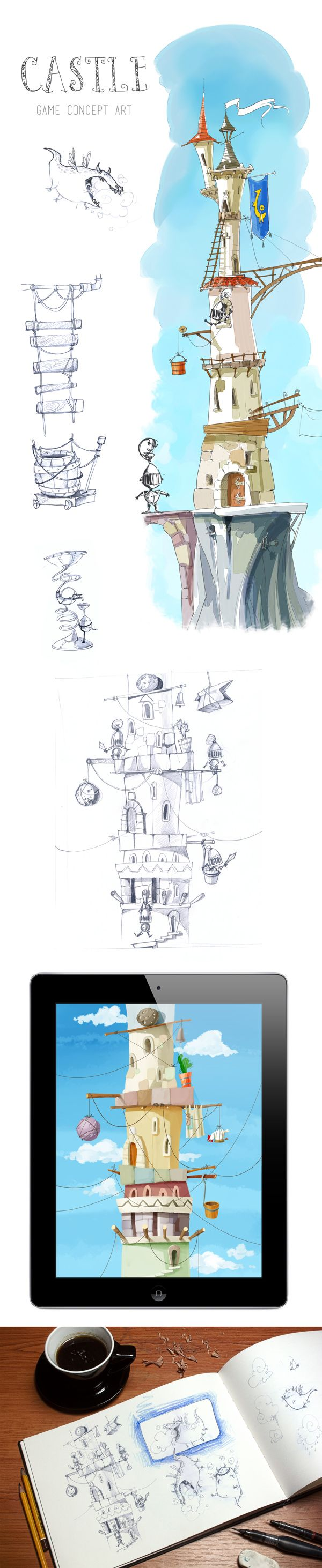 Castle: Concept by Just Games.