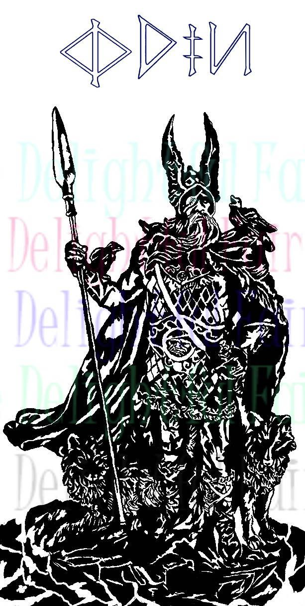 Excited to share the latest addition to my #etsy shop: Odin and Gungnir svg, Odin svg, cut file, viking avg, cameo silhouette, circuit, digital download, decal, htv, vinyl craft http://etsy.me/2HO54Tc #art #drawing #thedelightfulfairy #svg #odinsvg #gungnirsvg