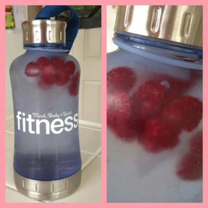 Got a lot of frozen berries? Add them to your water. They make flavorful ice cubes.