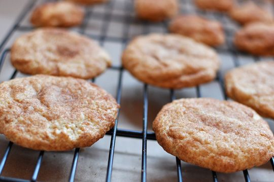 """Super-Soft Snickerdoodle Cookies  