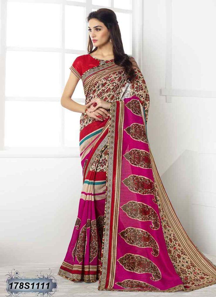 Astounding Multi Coloured Linen Casual saree