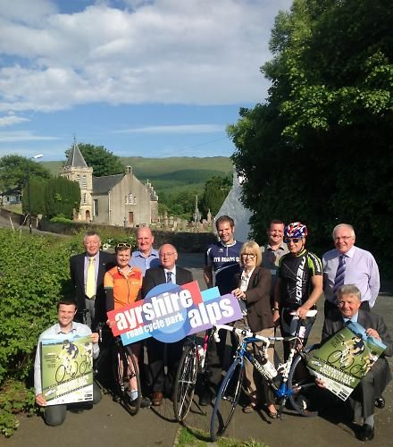 South Ayrshire's 'Alps' - Scotland's first road cycling park opens website   road.cc   Road cycling news, Bike reviews, Commuting, Leisure riding, Sportives and more
