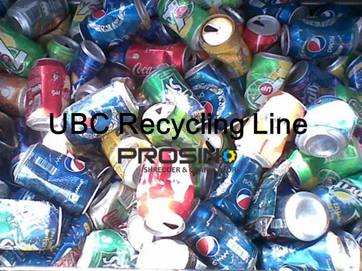 UBC (Used beverage cans) is the most recycled consumer product. The biggest benefits of recycling UBC is it saves 95% of the energy compared to making new aluminum through mining, refining and smelting processes. UBC recycling line is a complete UBC recycling process line which incl collection, shredding, de-coating, melting and casting.